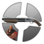 Silver Heavy Shotgun